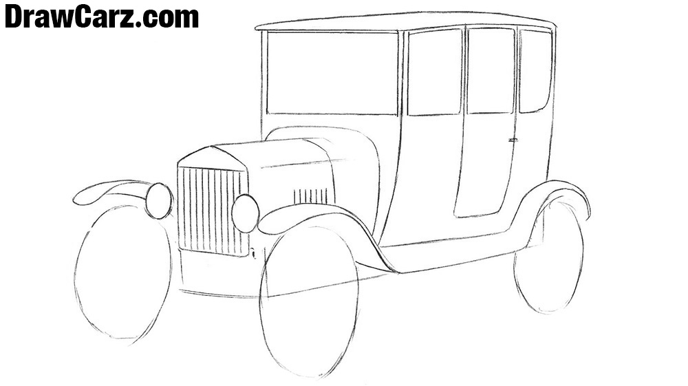 How to sketch a Ford