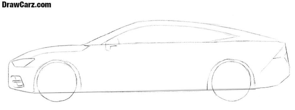 Audi drawing tutorial