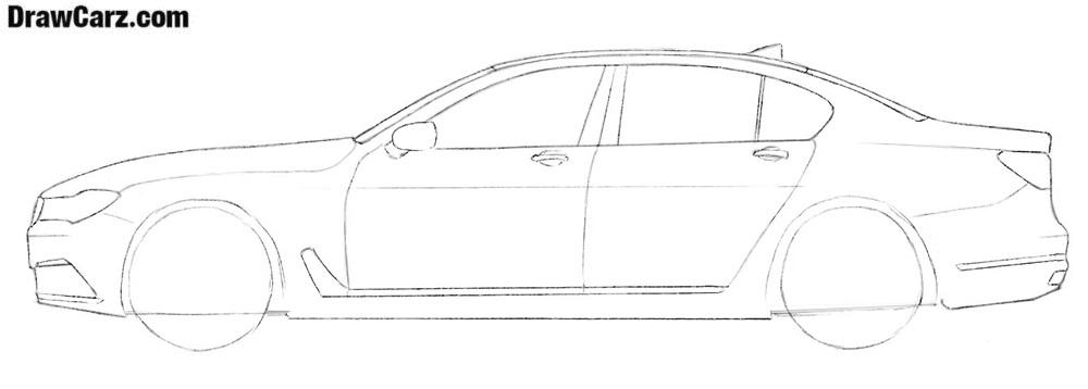 BMW drawing tutorial