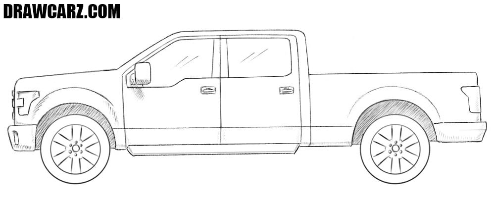 Ford Truck drawing