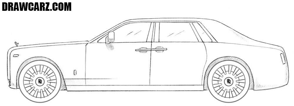 Rolls Royce drawing