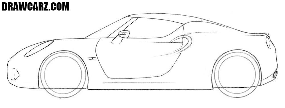 How to draw an Alfa Romeo