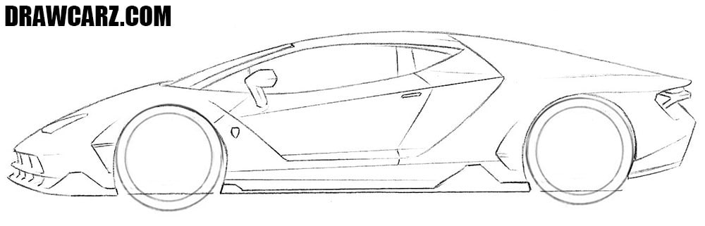 How to sketch a Lambo