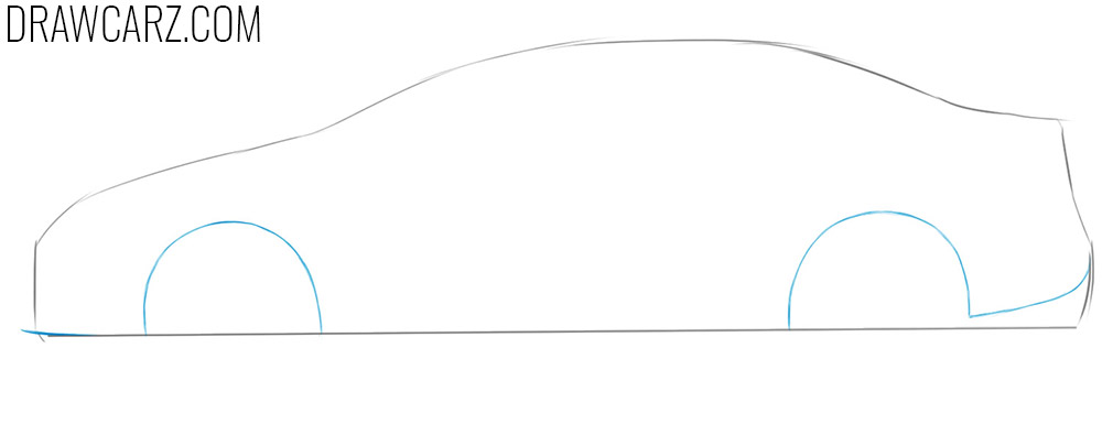 toyota corolla drawing guide