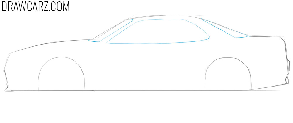 how to depict a car