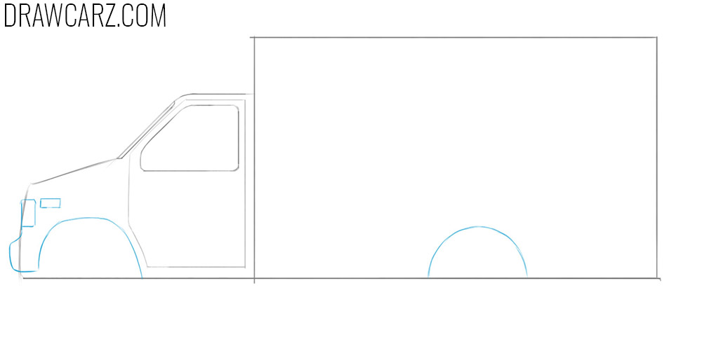 how to draw an Ambulance easy