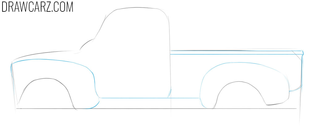 how to draw an abandoned car for beginners