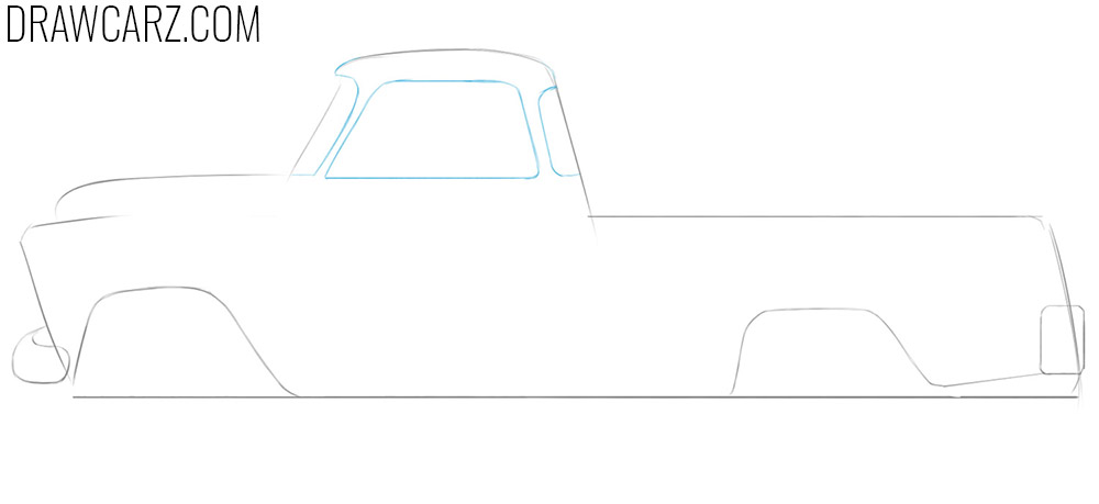learn how to sketch an old truck