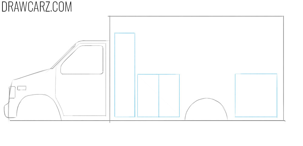 learn how to draw an Ambulance