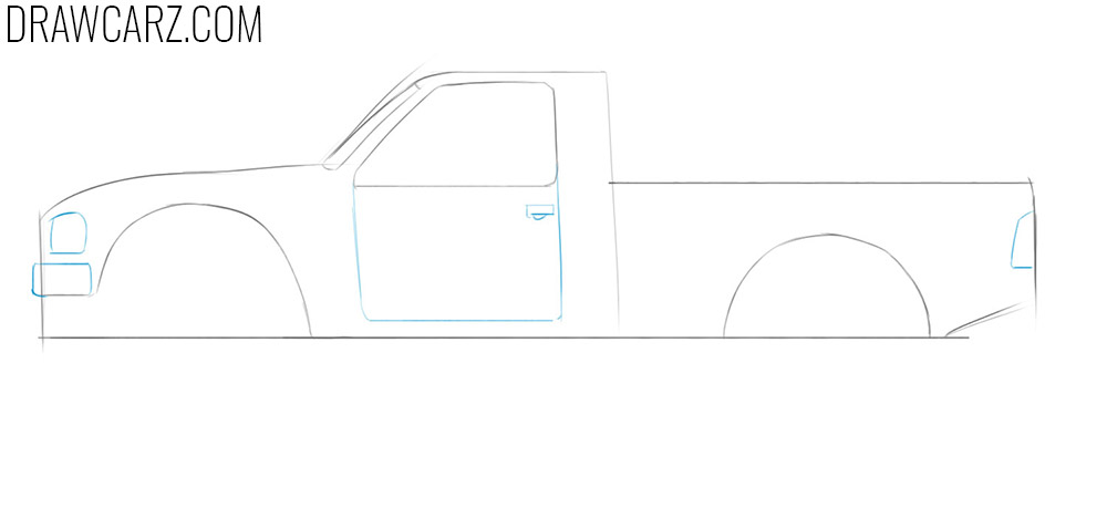 learn how to sketch a off road truck