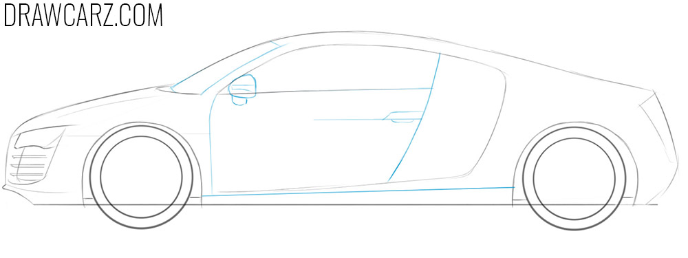 How to draw cars