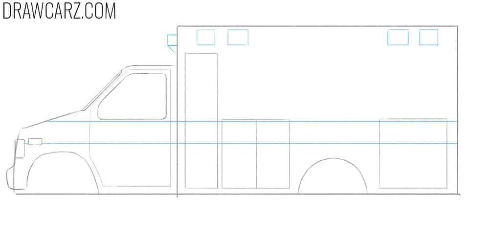 truck drawing tutorial