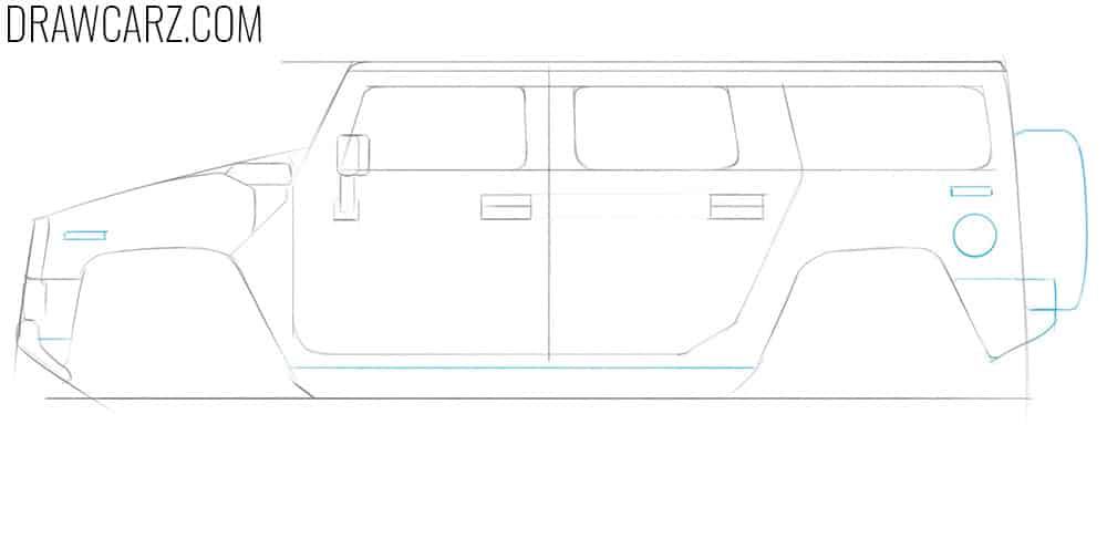 car drawing tutorial