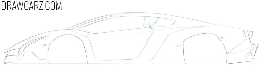 depict a car