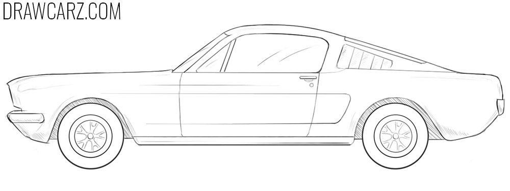 how to draw an Old Car