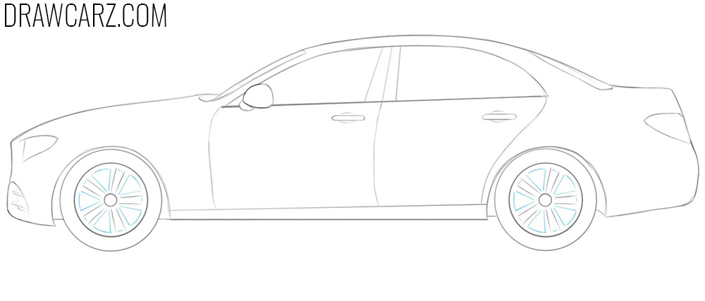 how to draw a car simple