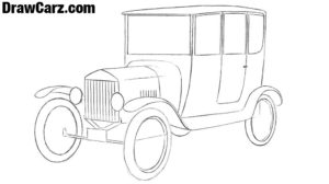 How to draw a firs Ford