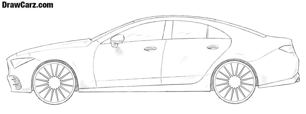 Car drawing tutorial