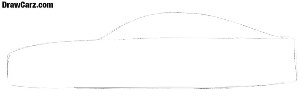 How to draw a BMW