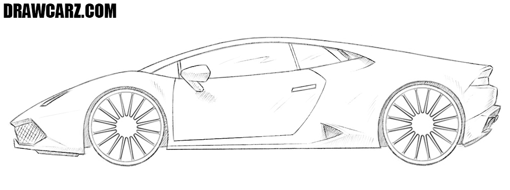 How To Draw A Supercar