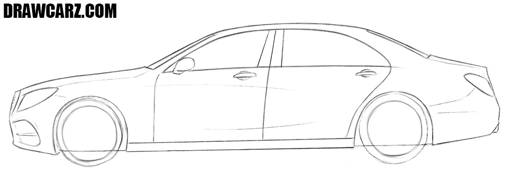 How to draw a car step by step easy for beginners