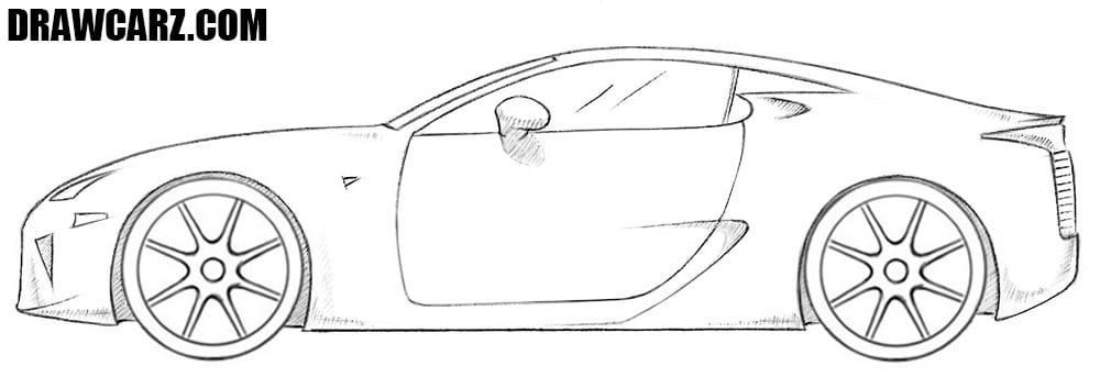 How to Draw a Cool Car