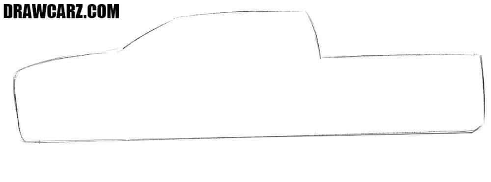 How to sketch a Dodge Ram