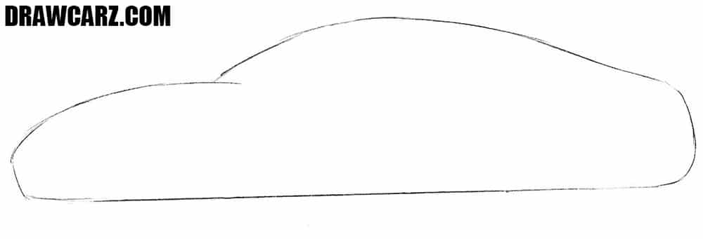 How to sketch a Sports Car