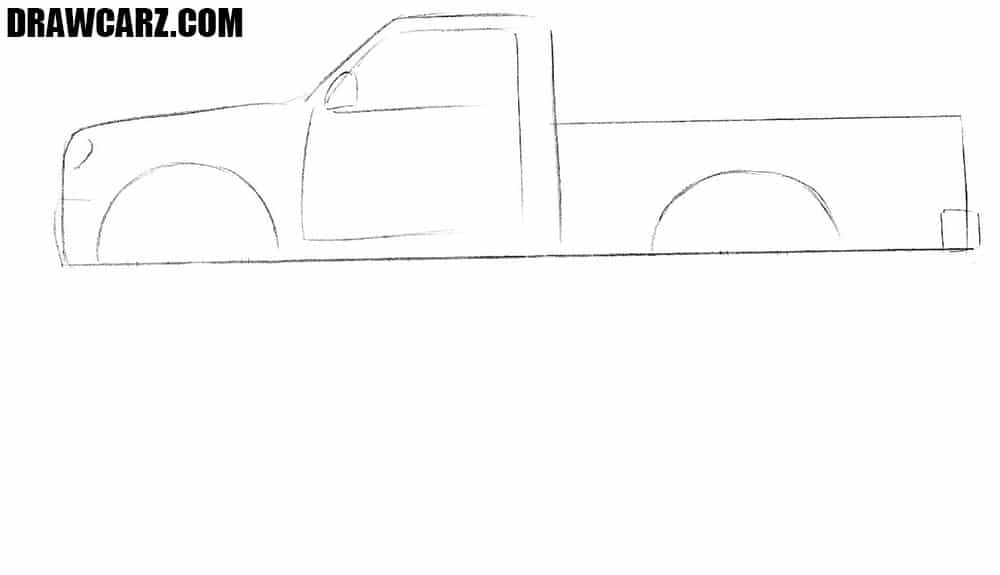 How easy to draw a Monster Truck