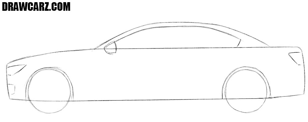 How to draw a car quick and easy