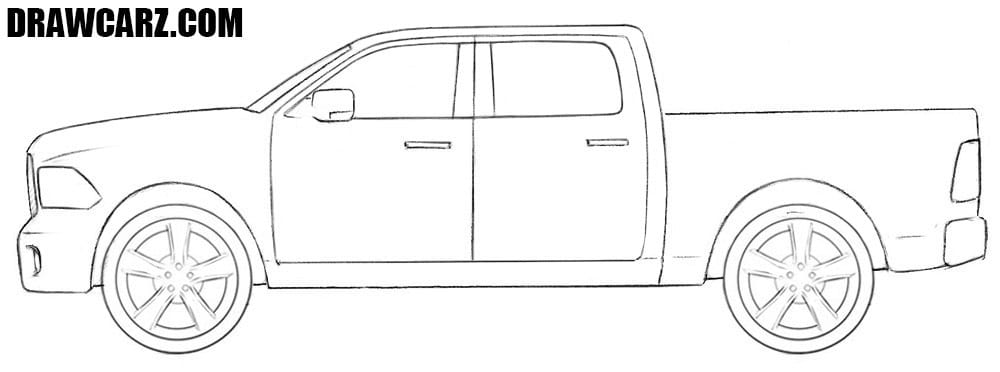 Dodge Truck drawing
