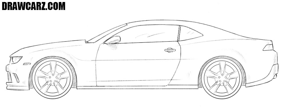 Chevrolet Camaro drawing