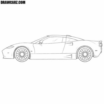 How to Draw a Really Cool Car