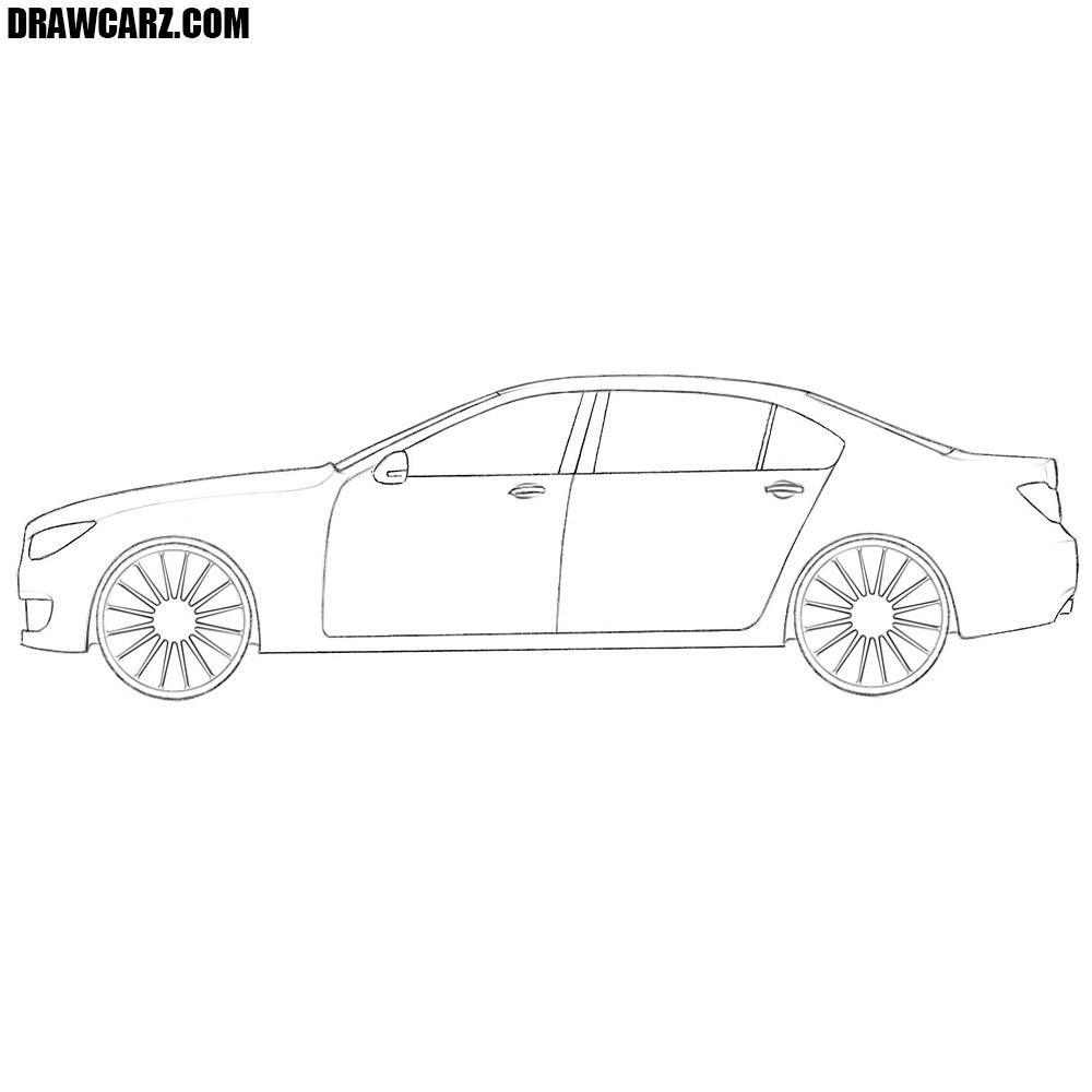 How To Draw A Car Easy Drawcarz