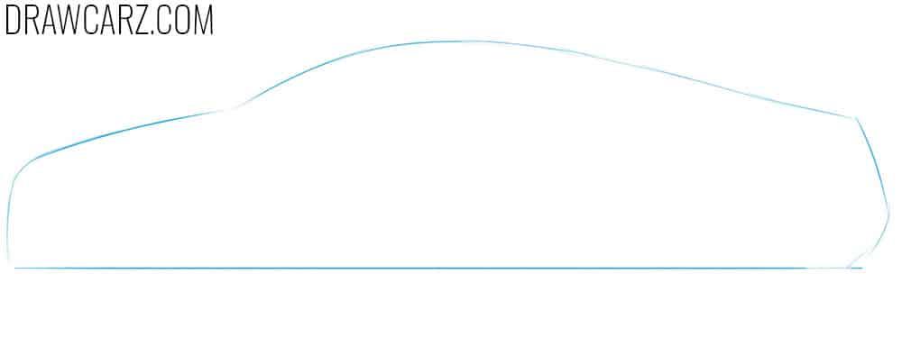 draw a car easy