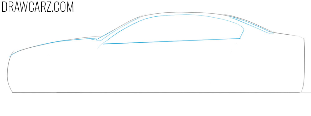 how to draw a bmw easy