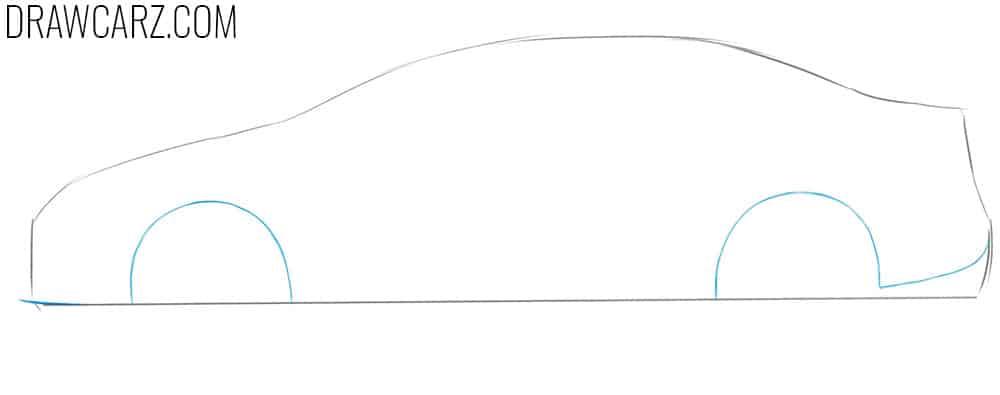 toyota corolla drawing guide