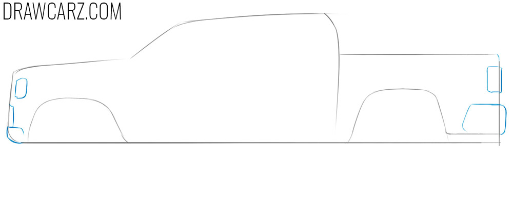 easy car drawing guide