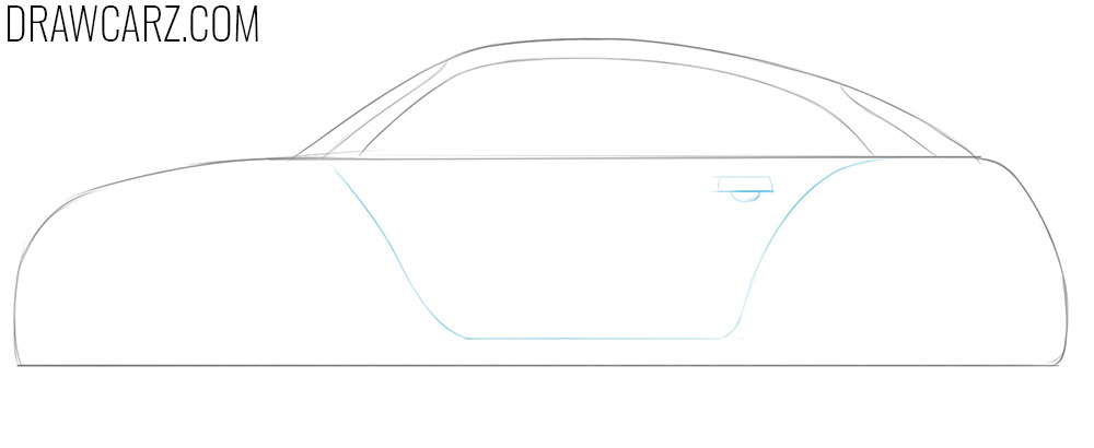 car for kids drawing guide