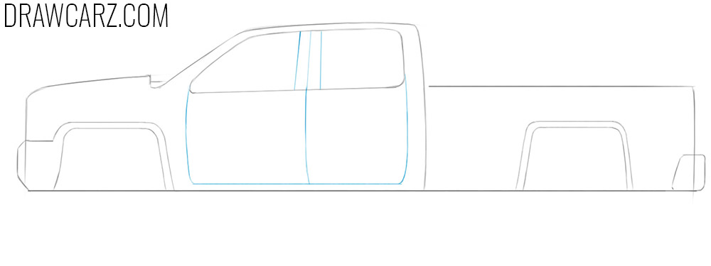 draw a truck easy