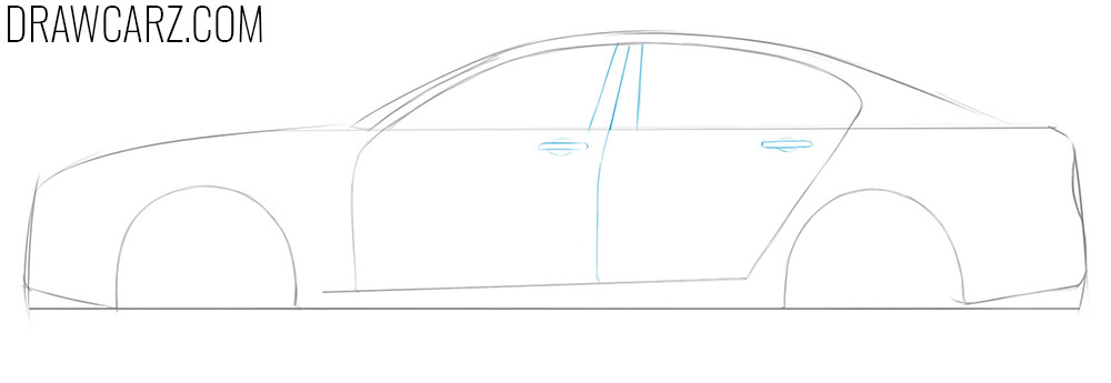 how to draw a beautiful simple car