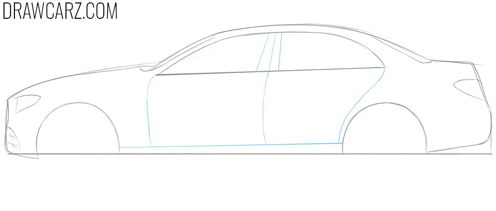 how to draw a 3d car step by step on paper