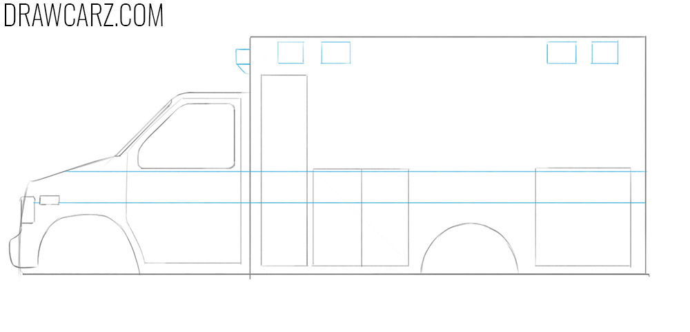 truck drawing tutorial