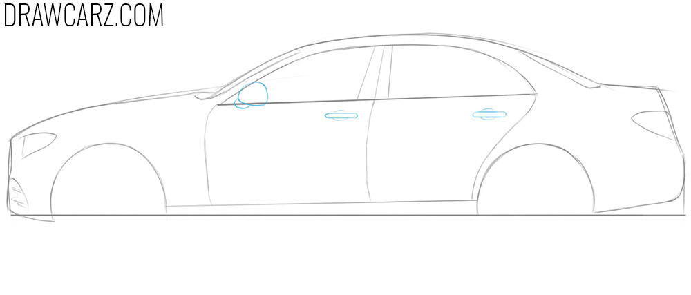 how to draw a 3d car easy