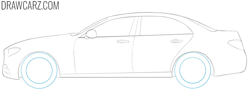 how to draw a 3d car for beginners