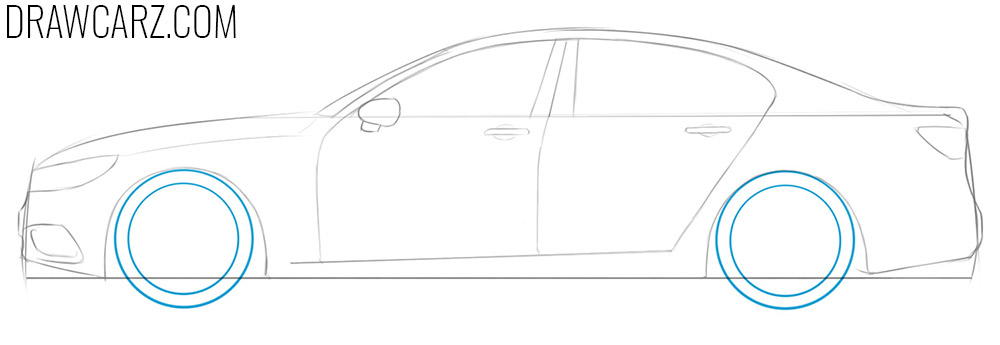 how to draw a car simple and easy