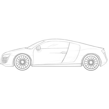 How to Draw a Realistic Car