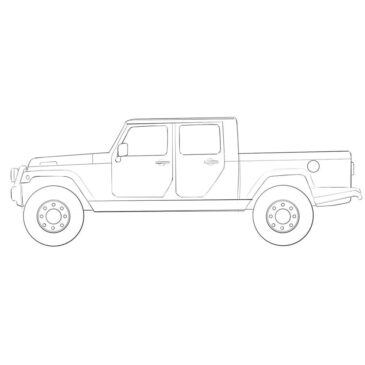 How to Draw a Jeep Truck