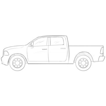 How to Draw a Ram Truck