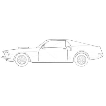 How to Draw a Classic Car